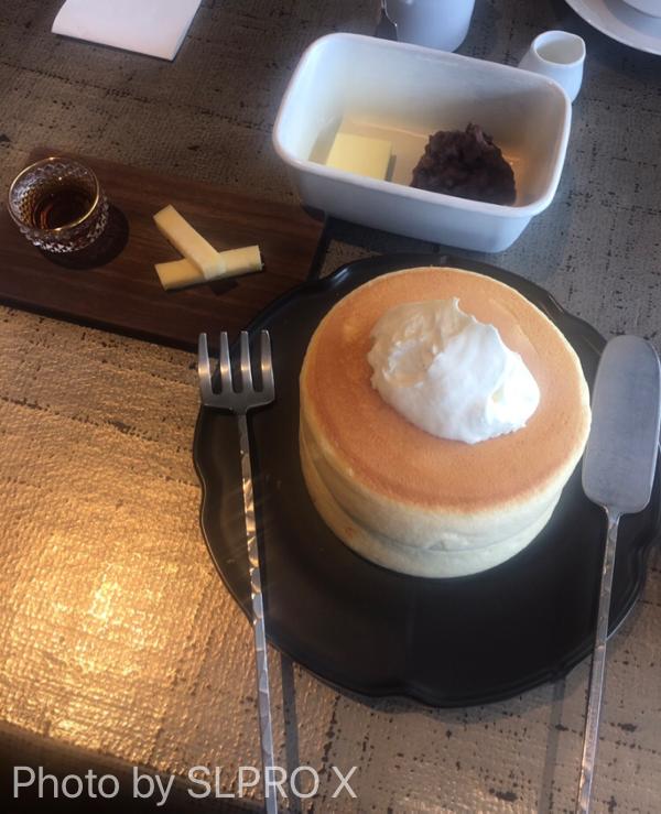 赤レンガテラスホットケーキ、パンケーキ