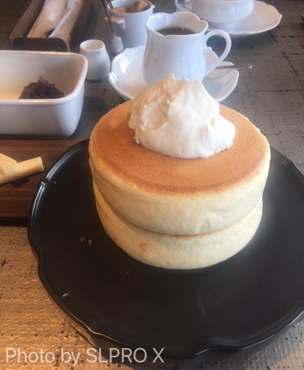 椿サロンホットケーキ、パンケーキ