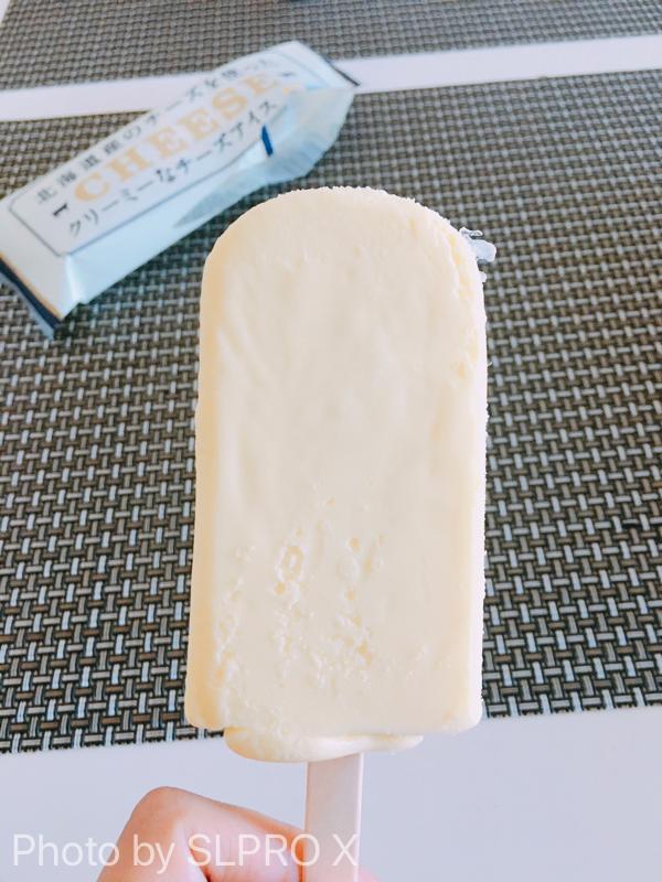 セイコーマートのチーズアイス