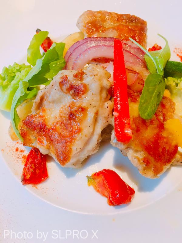 若鶏グリルと彩り野菜のグリル、チキン