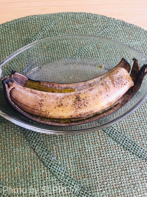 伝説の家政婦志摩さんの焼きバナナ