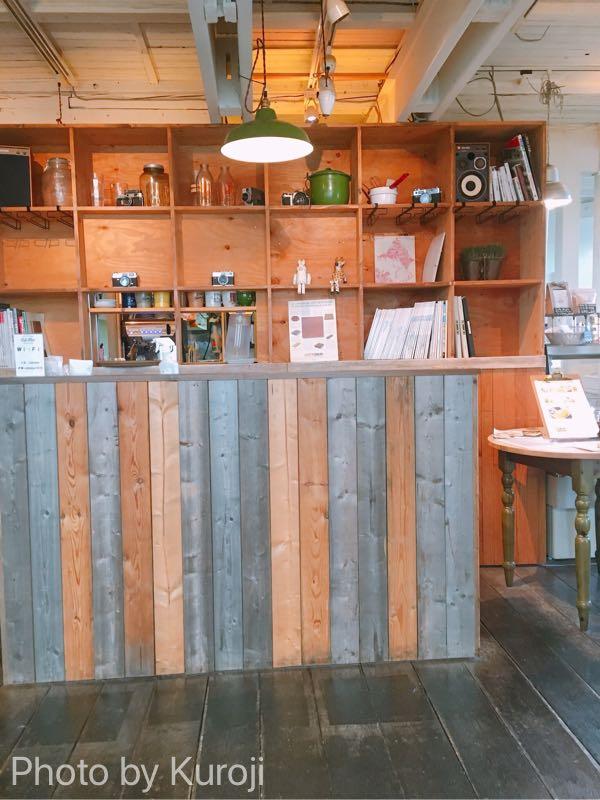 cafeblue店内