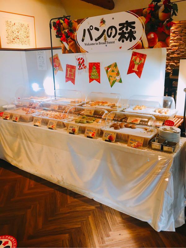 サンマルク中島公園店のパンコーナー