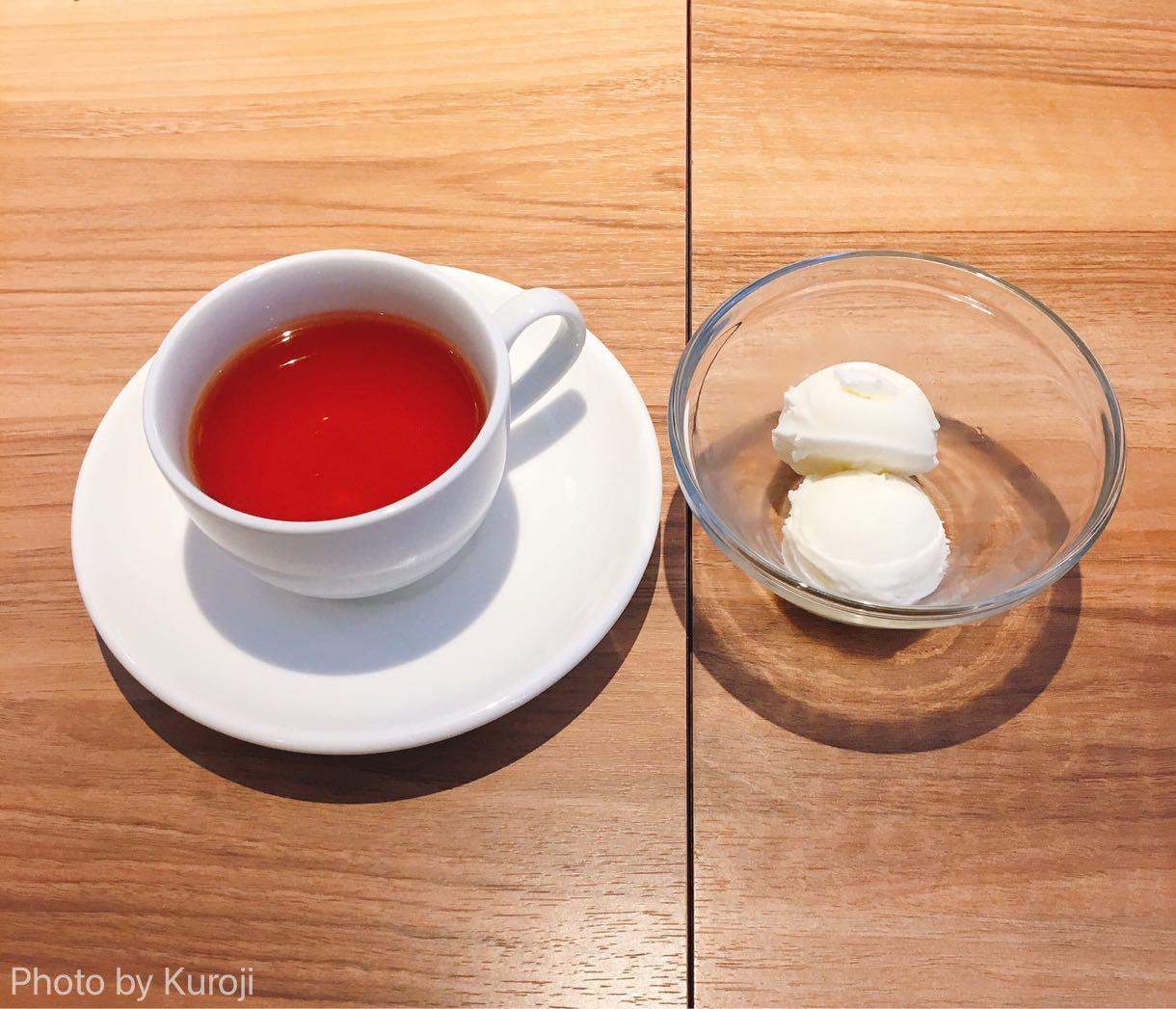 オーガニックティー、紅茶、ミルクジェラート
