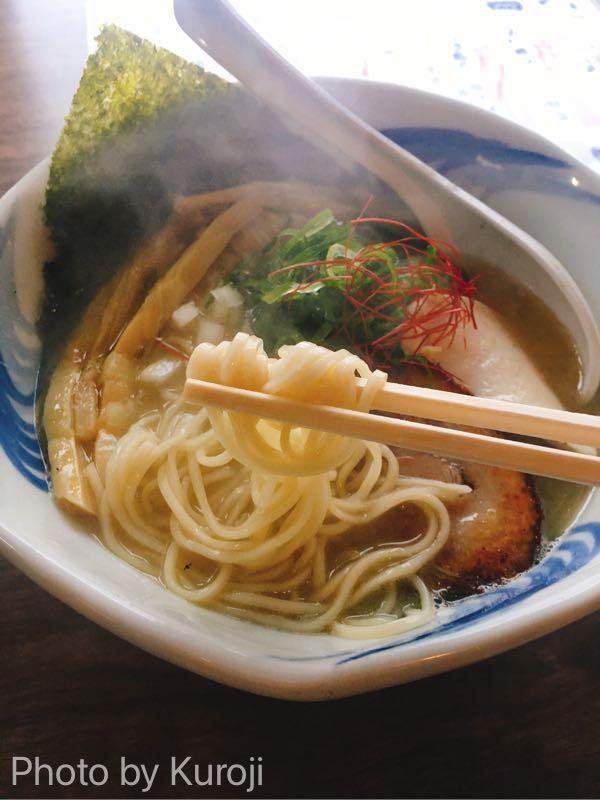 魚介鶏塩白湯ラーメン