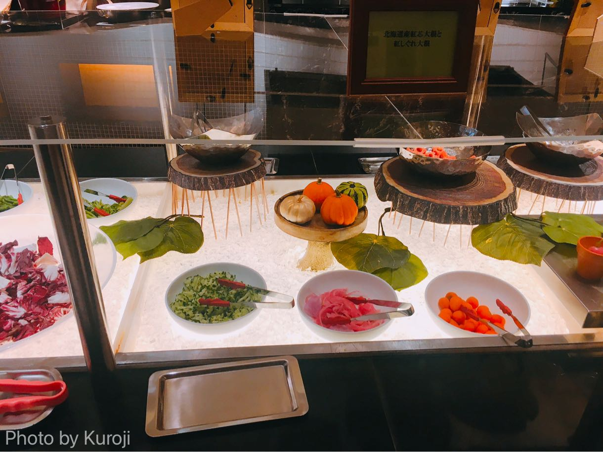 北海道産のサラダ、大根サラダ